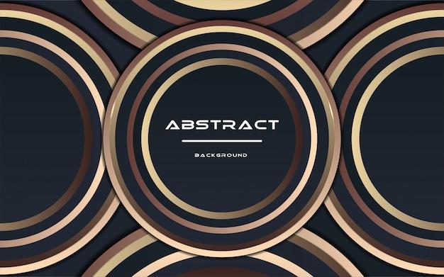 Abstrait futuriste avec des dégradés de couleurs