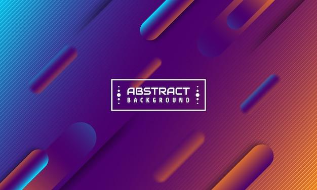 Abstrait futuriste. illustration 3d avec élément géométrique.