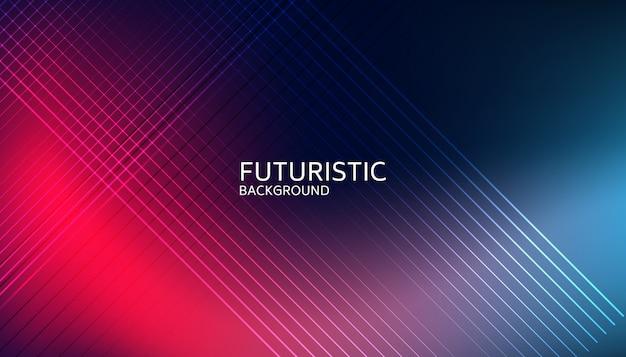 Abstrait futuriste ligne lumineuse