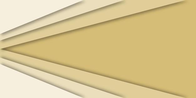 Abstrait géométrique 3d avec espace de copie.