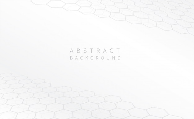 Abstrait géométrique blanc.