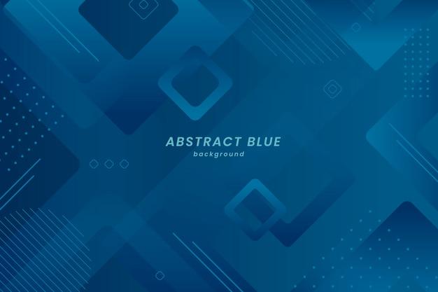 Abstrait géométrique bleu classique