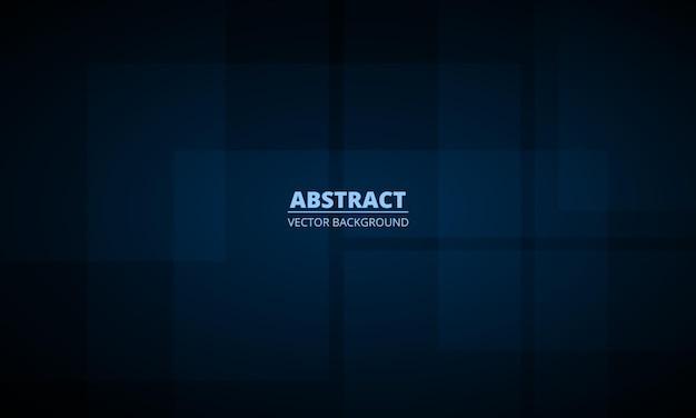 Abstrait géométrique bleu foncé avec concept d'entreprise moderne
