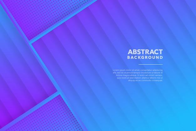 Abstrait géométrique bleu violet moderne