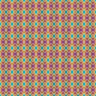 Abstrait géométrique carré bleu