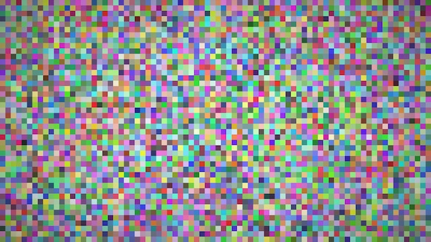 Abstrait géométrique de carrés. fond de pixel multicolore avec espace vide. illustration vectorielle.