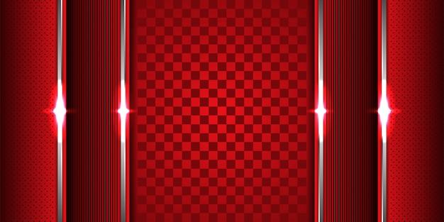 Abstrait géométrique de chevauchement