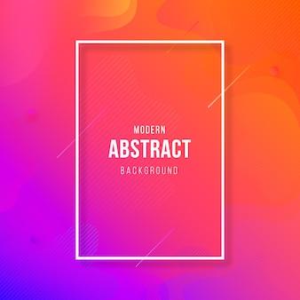 Abstrait géométrique coloré moderne