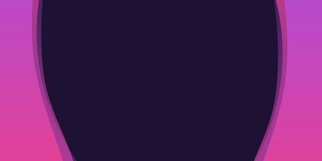 Abstrait géométrique de couleur violet et foncé.