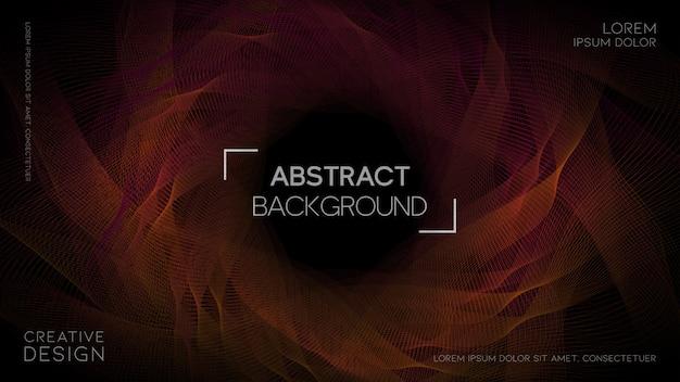 Abstrait géométrique avec dégradé de couleur