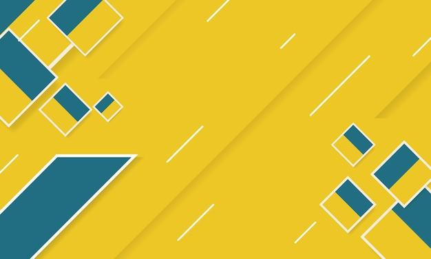 Abstrait géométrique diagonale jaune