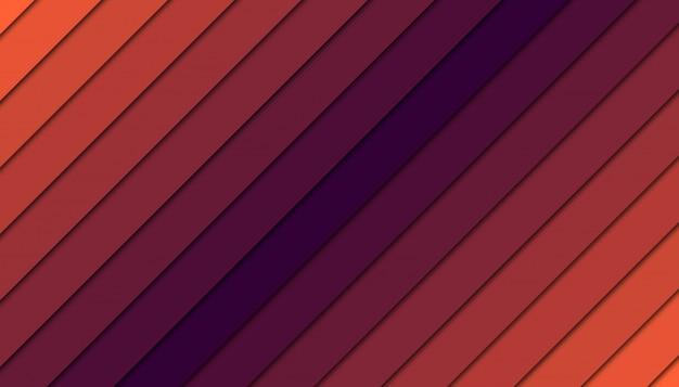 Abstrait géométrique avec des formes découpées en papier
