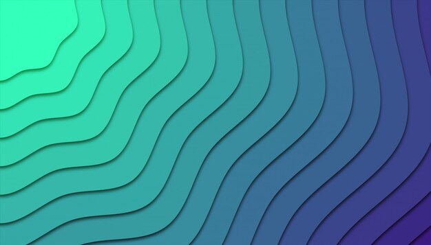 Abstrait géométrique avec des formes découpées en papier.