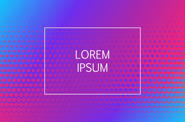 Abstrait géométrique de formes dégradé minimal. illustration
