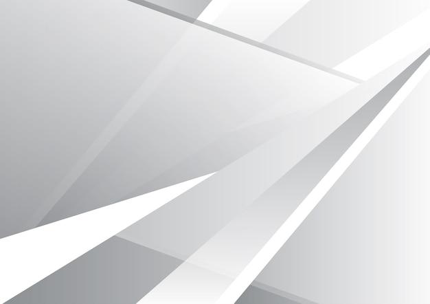 Abstrait géométrique gris et blanc