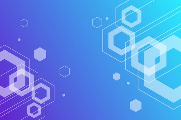 Abstrait géométrique hexagonal sans soudure