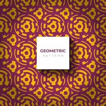 Abstrait géométrique avec des lignes de cercle