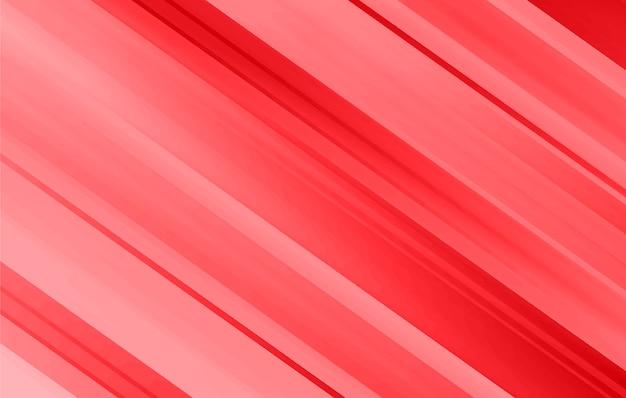 Abstrait géométrique avec des lignes rouges