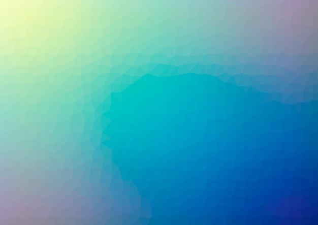 Abstrait géométrique low poly. vecteur d'effet de cristal polygonal. textures futuristes.