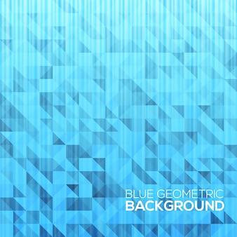 Abstrait géométrique moderne bleu