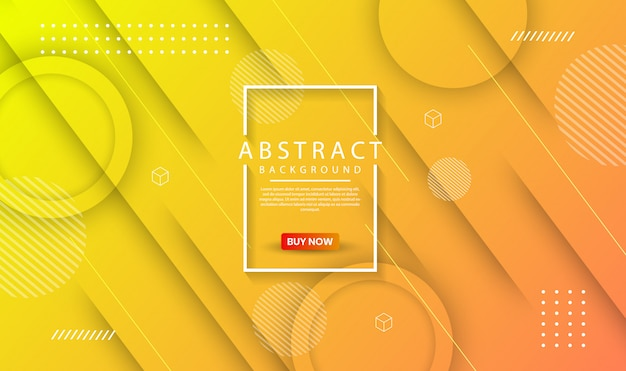 Abstrait géométrique moderne avec dégradé dynamique
