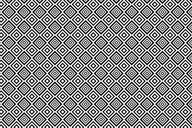 Abstrait géométrique noir et blanc pour textile, impression, tissu