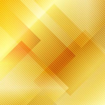 Abstrait géométrique or qui se chevauchent.