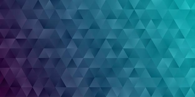Abstrait géométrique. papier peint triangle polygone de couleur bleu foncé