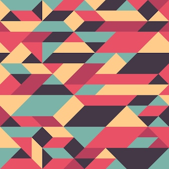 Abstrait géométrique sans soudure.