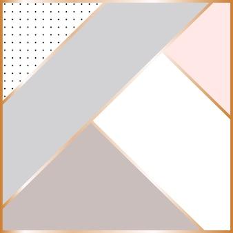 Abstrait géométrique scandinave.