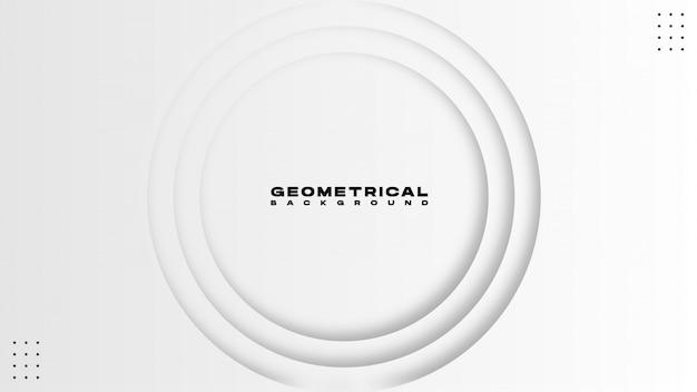 Abstrait géométrique style vecteur coloré illustration fond géométrique.