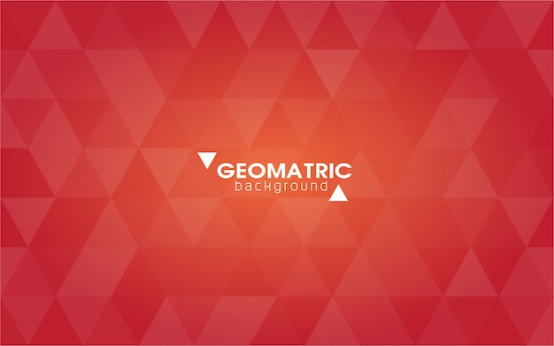 Abstrait géométrique, vecteur de polygones, triangles
