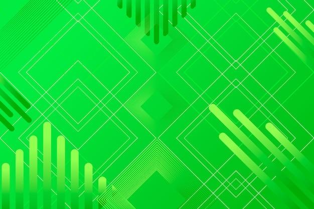 Abstrait géométrique vert