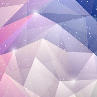 Abstrait géométrique violet.