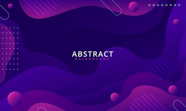 Abstrait géométrique violet