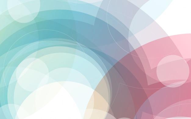 Abstrait graphique moderne gradienst coloré