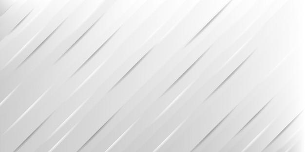 Abstrait gris et blanc avec fond de conception de ligne rayée