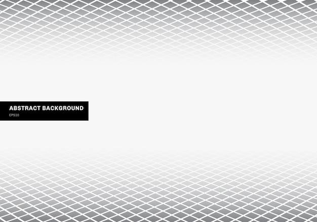 Abstrait gris carré blanc