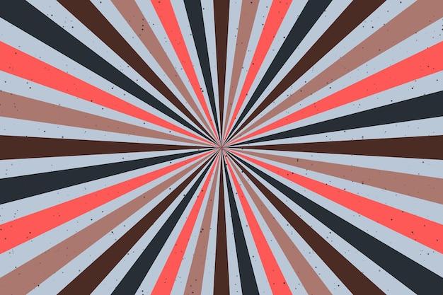 Abstrait groovy psychédélique. illustration vectorielle.