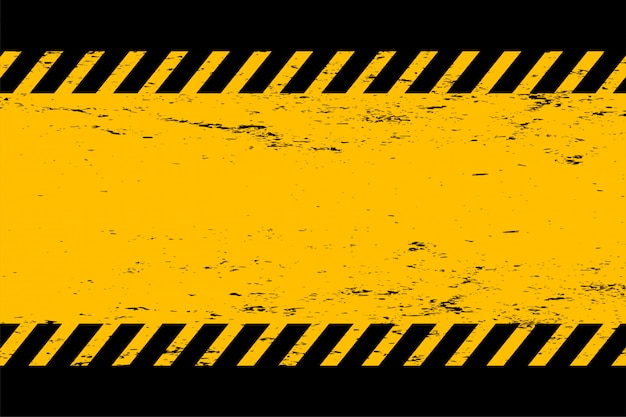 Abstrait grunge style fond jaune et noir vide