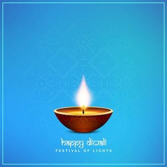 Abstrait happy diwali religieux élégant fond