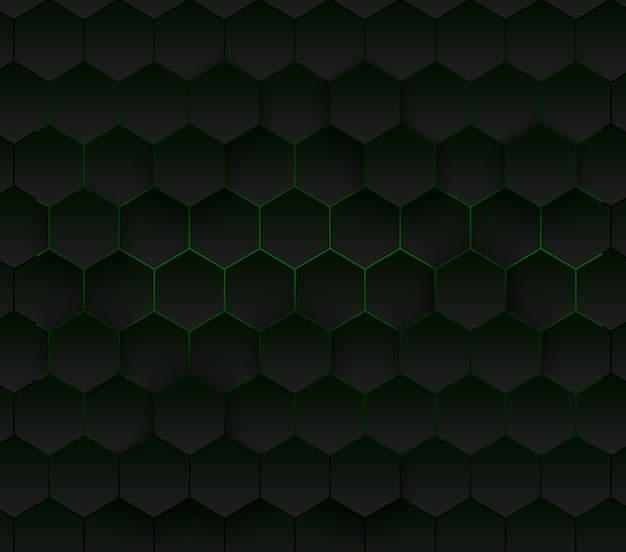 Abstrait hexagonal