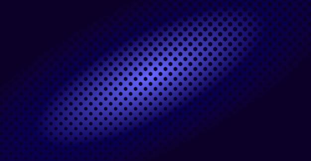 Abstrait hexagone dans le style de demi-teintes