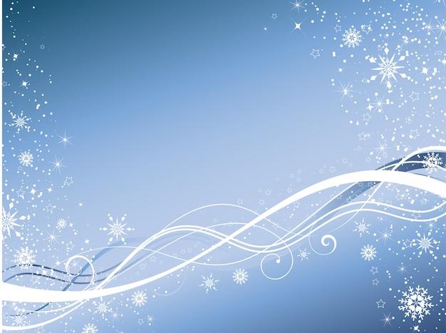 Abstrait d'hiver