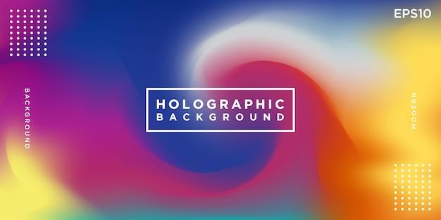 Abstrait holographique coloré