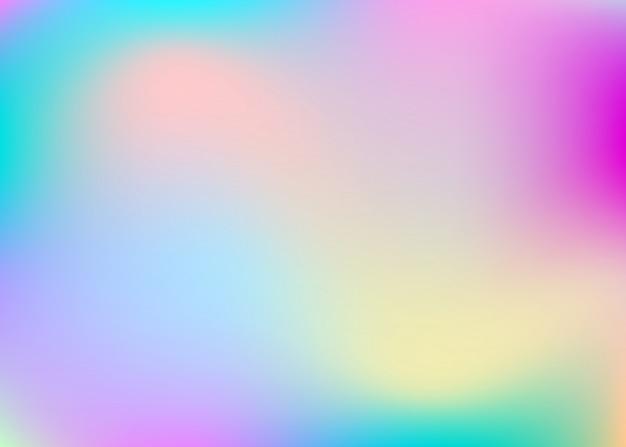 Abstrait holographique.