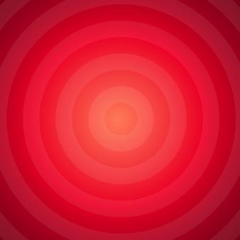 Abstrait hypnotique rouge