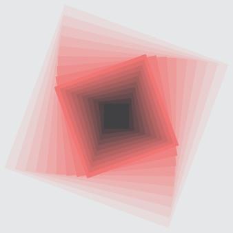 Abstrait illusion d'optique