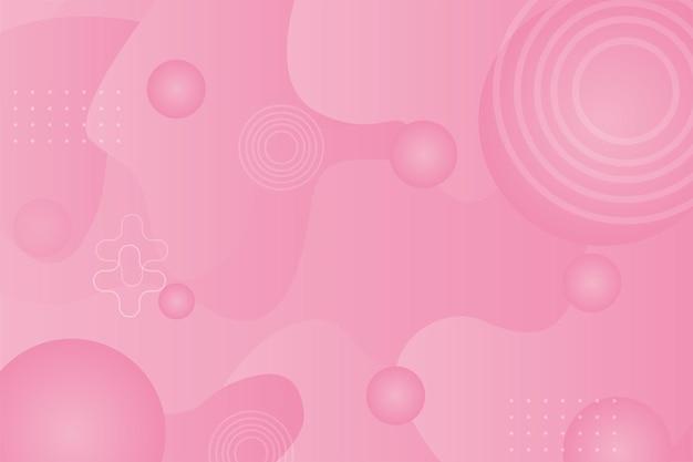Abstrait illustration fond futuriste rose pastel fond d'écran