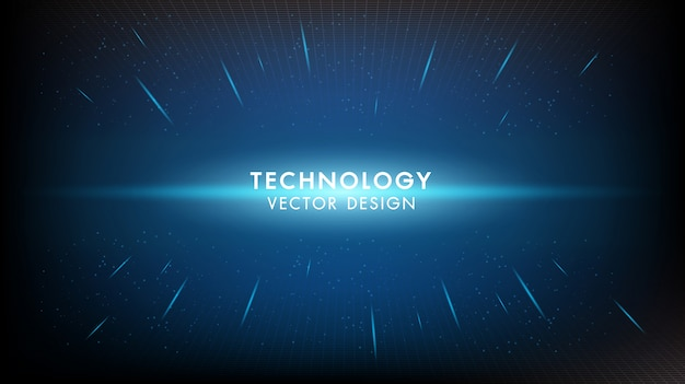 Abstrait innovation numérique numérique technologie fond futuriste